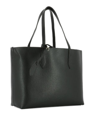 Burberry: totes bags online - Leather medium reversible tote