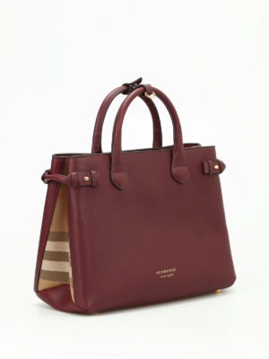 Burberry: totes bags online - The Banner medium leather bag