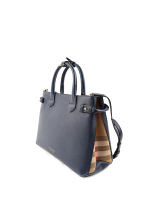 Burberry: totes bags online - The Medium Banner leather tote