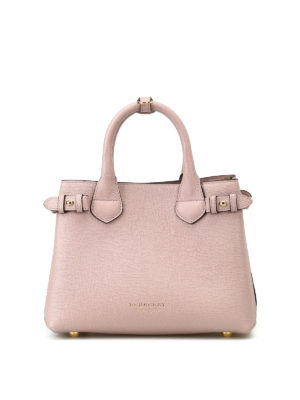 Burberry: totes bags - The Baby Banner pink small handbag