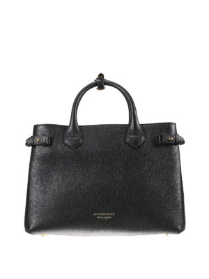 Burberry: totes bags - The Banner medium leather bag