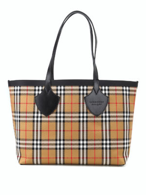 BURBERRY: shopper - Shopper reversibile The Medium Giant