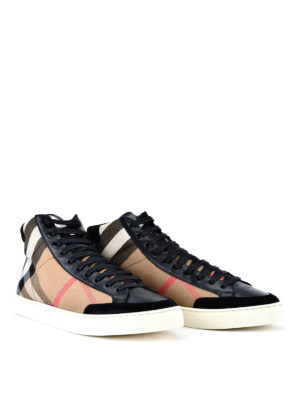 Burberry: trainers online - Painton high-top trainers