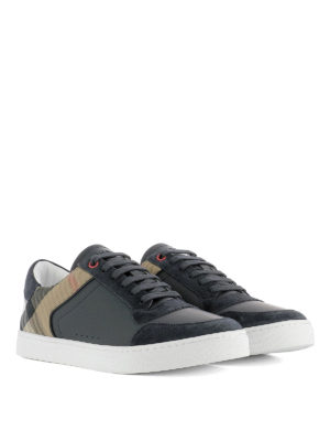 Burberry: trainers online - Sneakers with suede inserts