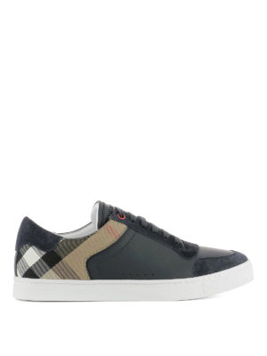 Burberry: trainers - Sneakers with suede inserts