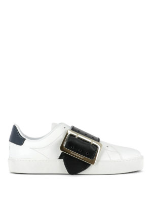 Burberry: trainers - Westford leather sneakers