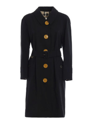 Burberry: trench coats - Brinkhill single-breasted trench
