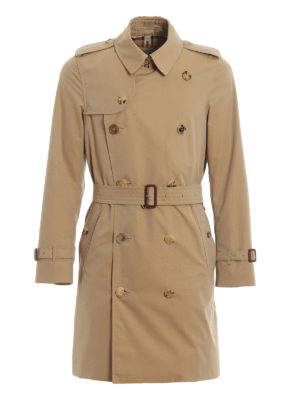 BURBERRY: trench coats - Chelsea double-breasted trench coat