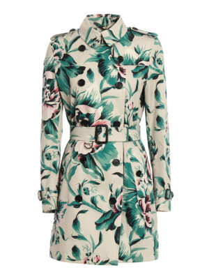 Burberry: trench coats - Cotton Kensington trench