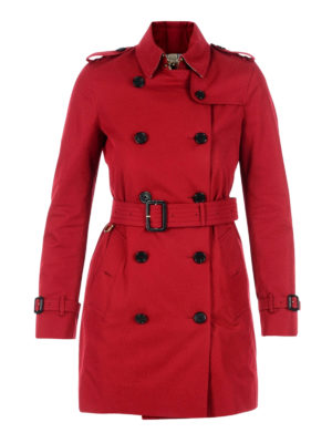 Burberry: trench coats - Kensington medium trench