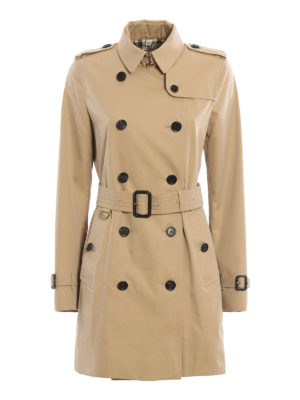 Burberry: trench coats - Medium Kensington trench coat