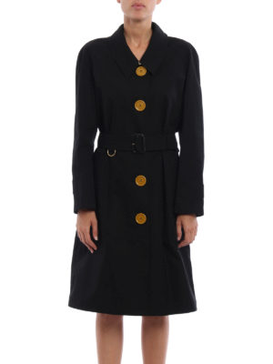 Burberry: trench coats online - Brinkhill single-breasted trench