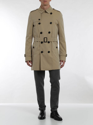 Burberry: trench coats online - Kensington medium trench