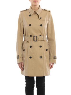 Burberry: trench coats online - Medium Kensington trench coat