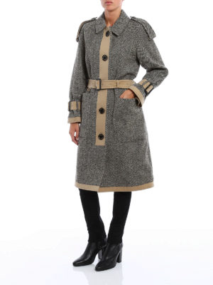Burberry: trench coats online - Oakville double face trench coat