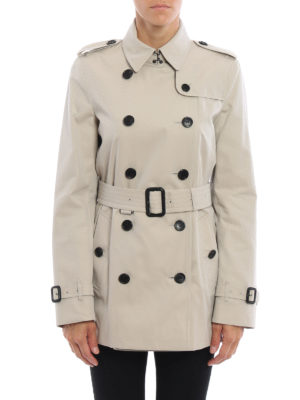 Burberry: trench coats online - The Kensington short trench