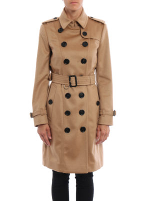 Burberry: trench coats online - The Sandringham cashmere trench