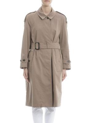 Burberry: trench coats online - Weatherproof gabardine trench coat