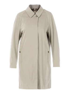 Burberry: trench coats - The Camden beige car coat