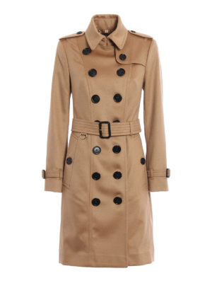Burberry: trench coats - The Sandringham cashmere trench