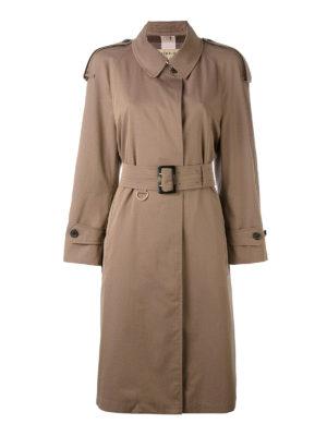 Burberry: trench coats - Weatherproof gabardine trench coat