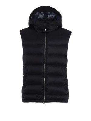 Burberry: waistcoats & gilets - Fitzroy padded hooded waistcoat