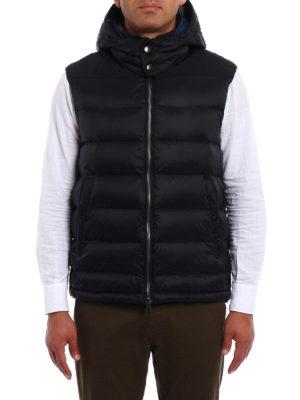 Burberry: waistcoats & gilets online - Fitzroy padded hooded waistcoat