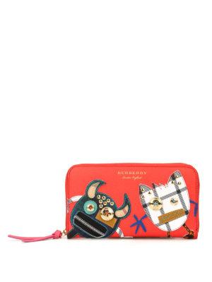 Burberry: wallets & purses - Elmore zip-around wallet