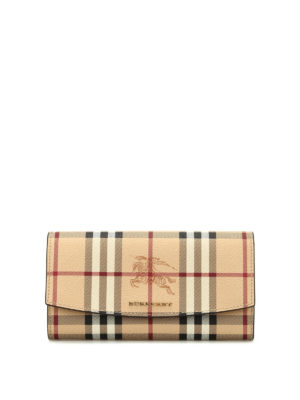 Burberry: wallets & purses - Halton continental wallet