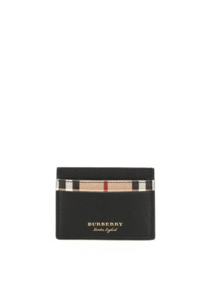 Burberry: wallets & purses - Haymarket Sandon card holder