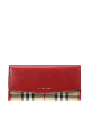 Burberry: wallets & purses - Horseferry Continental wallet