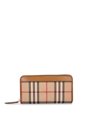 Burberry: wallets & purses - Horseferry zip around wallet
