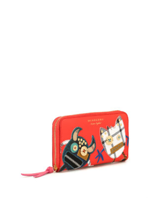 Burberry: wallets & purses online - Elmore zip-around wallet