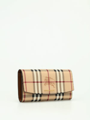 Burberry: wallets & purses online - Halton continental wallet