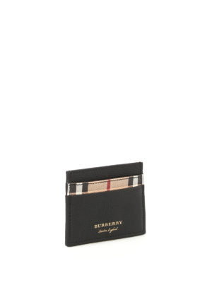 Burberry: wallets & purses online - Haymarket Sandon card holder