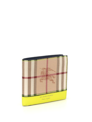 Burberry: wallets & purses online - Haymarket tricolour leather wallet
