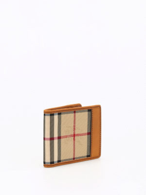 Burberry: wallets & purses online - Horseferry Check Hipfold wallet