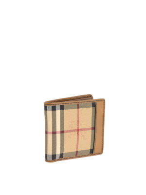 Burberry: wallets & purses online - Horseferry check patterned wallet