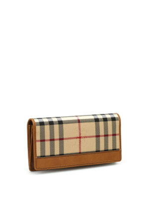 Burberry: wallets & purses online - Horseferry check wallet