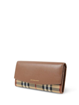 Burberry: wallets & purses online - Horseferry Continental wallet