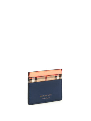 Burberry: wallets & purses online - Sandon tricolour card holder