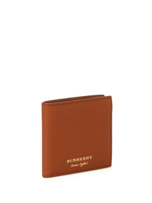 Burberry: wallets & purses online - Trench leather bifold wallet
