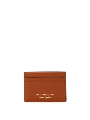 Burberry: wallets & purses - Sandon Trench leather card case