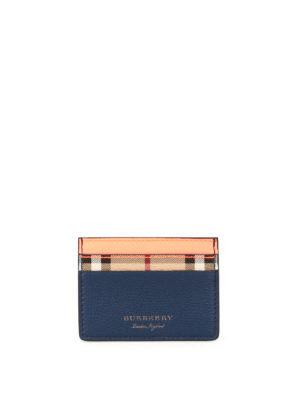 Burberry: wallets & purses - Sandon tricolour card holder