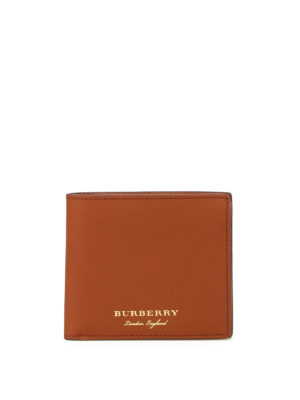 Burberry: wallets & purses - Trench leather bifold wallet