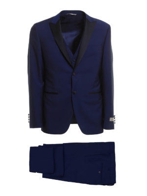 Canali: formal suits - Three-piece wool formal suit