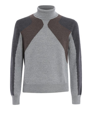 Canali: Turtlenecks & Polo necks - Wool turtleneck