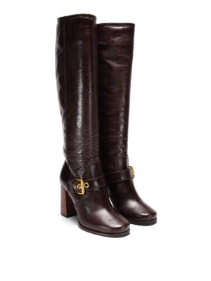 Car Shoe: boots online - Vintage effect leather boots