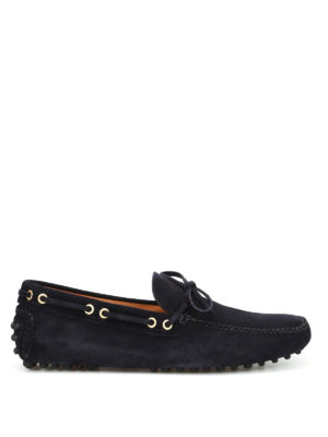 Car Shoe: Loafers & Slippers - Classic suede loafers