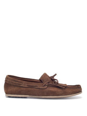 Car Shoe: Loafers & Slippers - Suede driver loafers